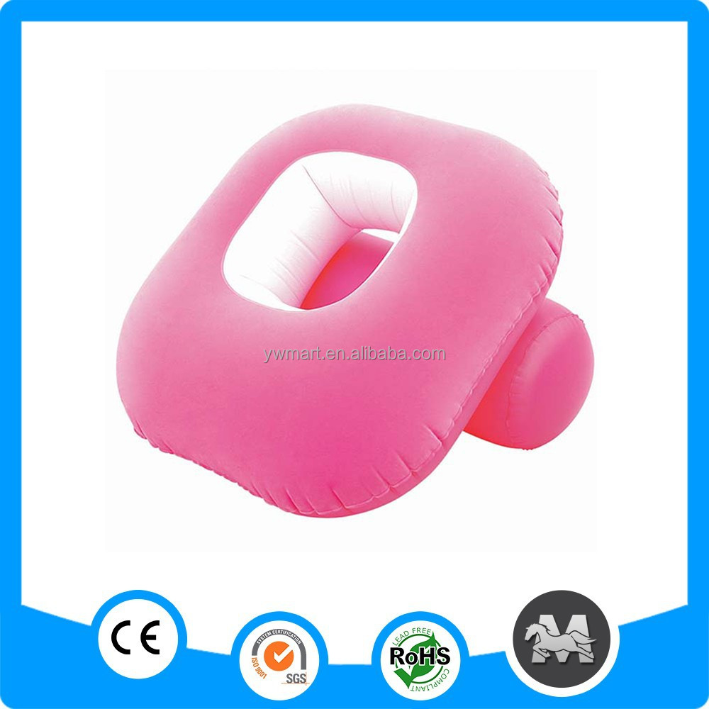 Self inflating pvc plastic inflatable outdoor sofa
