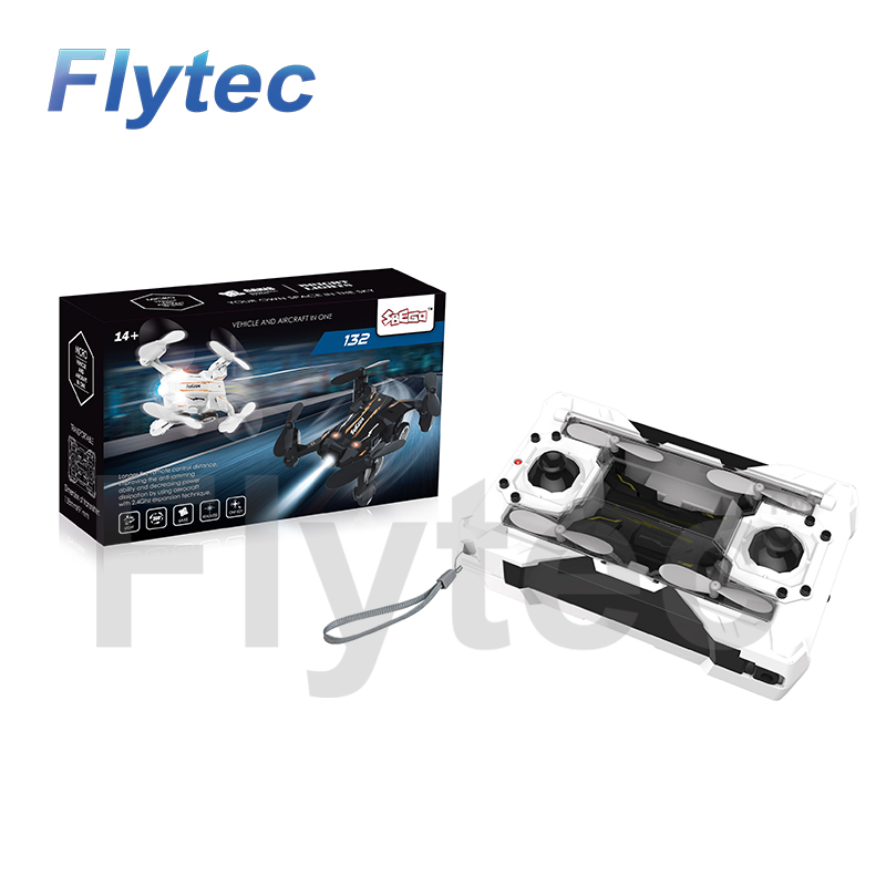 Flytec SBEGO Mini drone 132 Flying Car Drone RC Quadcopter Mini Pocket Drone Car VS FQ777 124