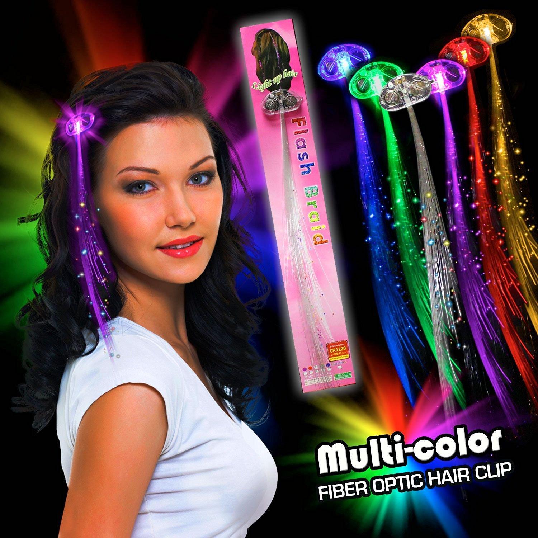 Buy Partylovers 14 Led Waterproof Flashing Hair Braid Extensions