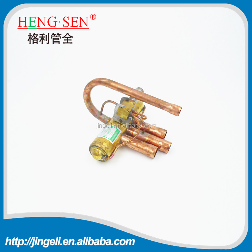 4 four way heat pump reversing valve solenoid coil operated