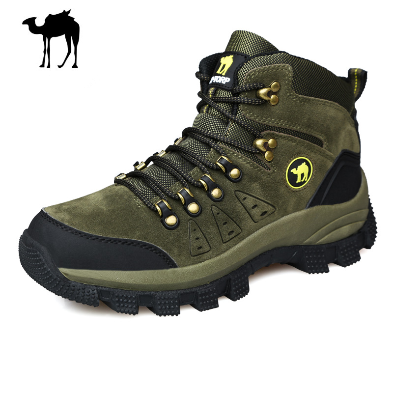 ab7e07ee87a3 Get Quotations · Winter Men s Hiking Boots Shoes New Sport Shoes Men PU  Leather Outdoor Mountain Shoes Walking Camping