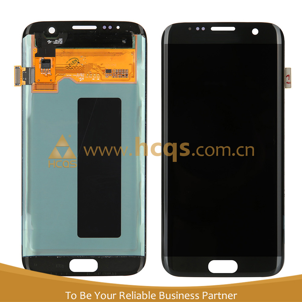 Touch screen motherboard for galaxy S7 edge, replacement lcd front glass digitizer for galaxy S7 edge