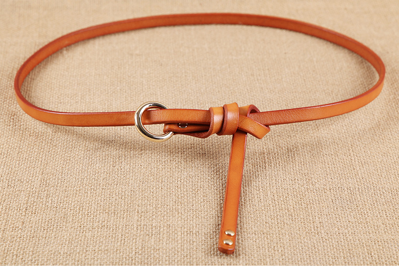 Factory handmade Genuine Leather women Belt Simple design new arrival