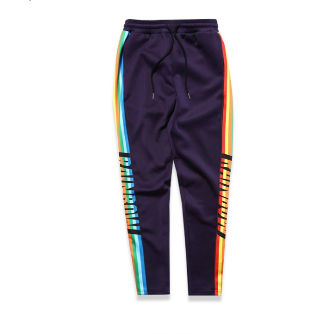 X82423B cheap high street long hiphop track streetwear casual mens sport joggers pants