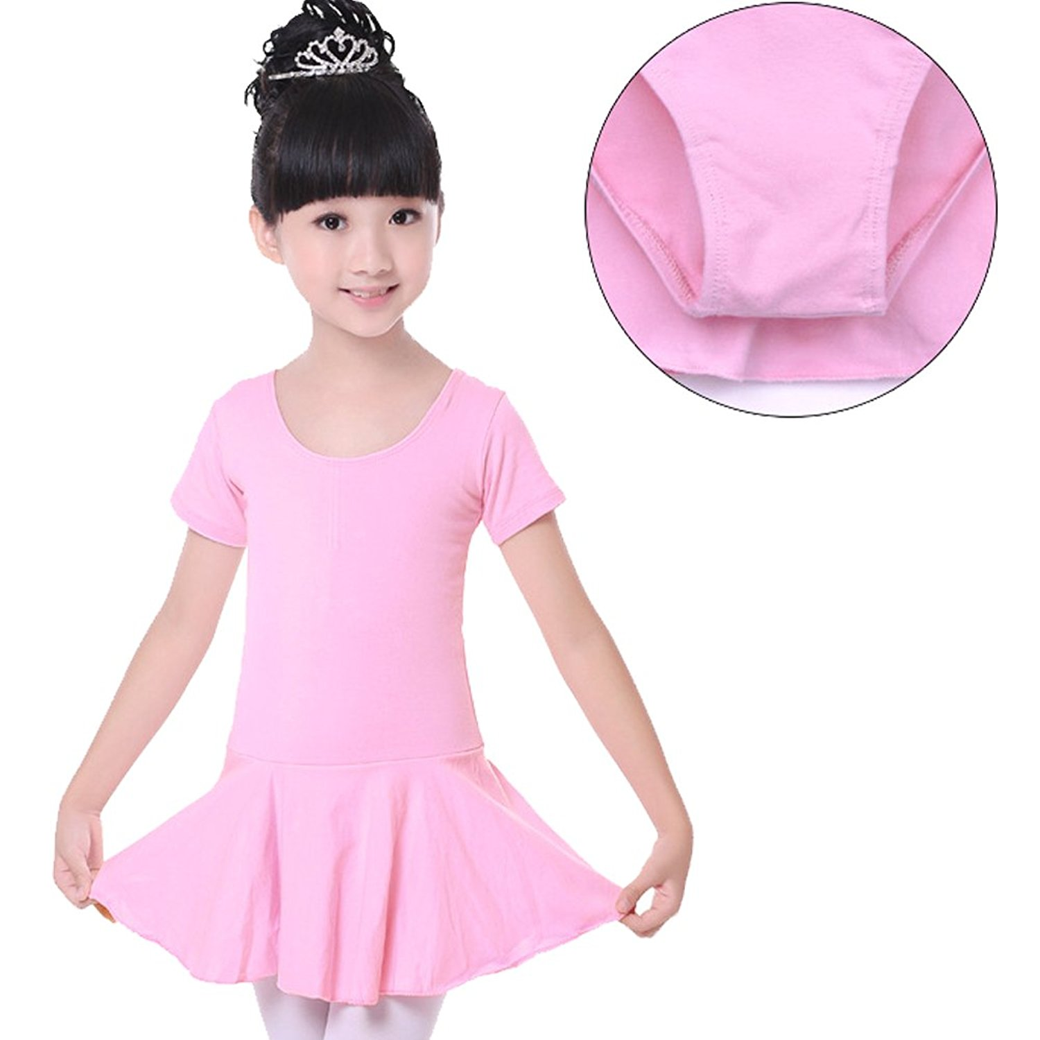 61aed3de0f0d Cheap Pink Skirted Leotard