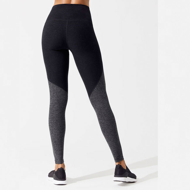 Best selling contract color yoga wear women leggings workout clothing