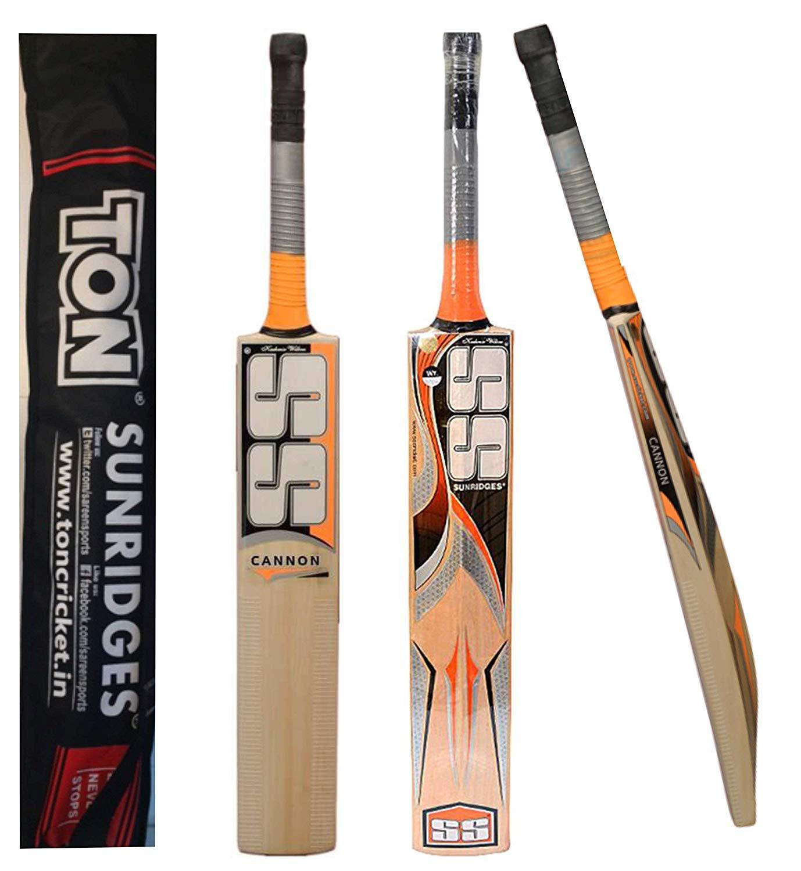 SS Cannon Cricket Bat Kashmir Willow by Sunridges