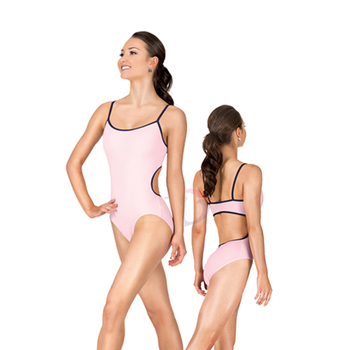 19742ccc95ab A2052 Camisole Shiny Pink Leotard Women Multicolor Leotards ...