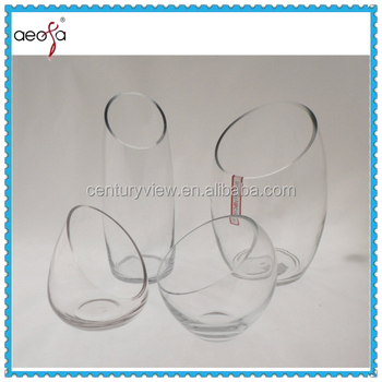 Clear Glass Fish Bowl Vase With Round Bottom Buy Fish Bowl Vases