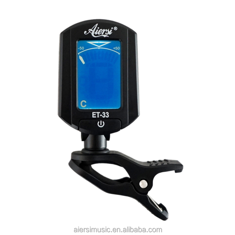 OEM ODM China aiersi Digital Clip Chromatic Tuner for ukulele ET-33