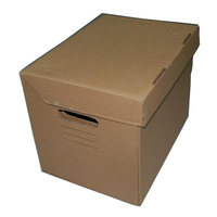 Office custom A4 size cardboard boxes for packaging