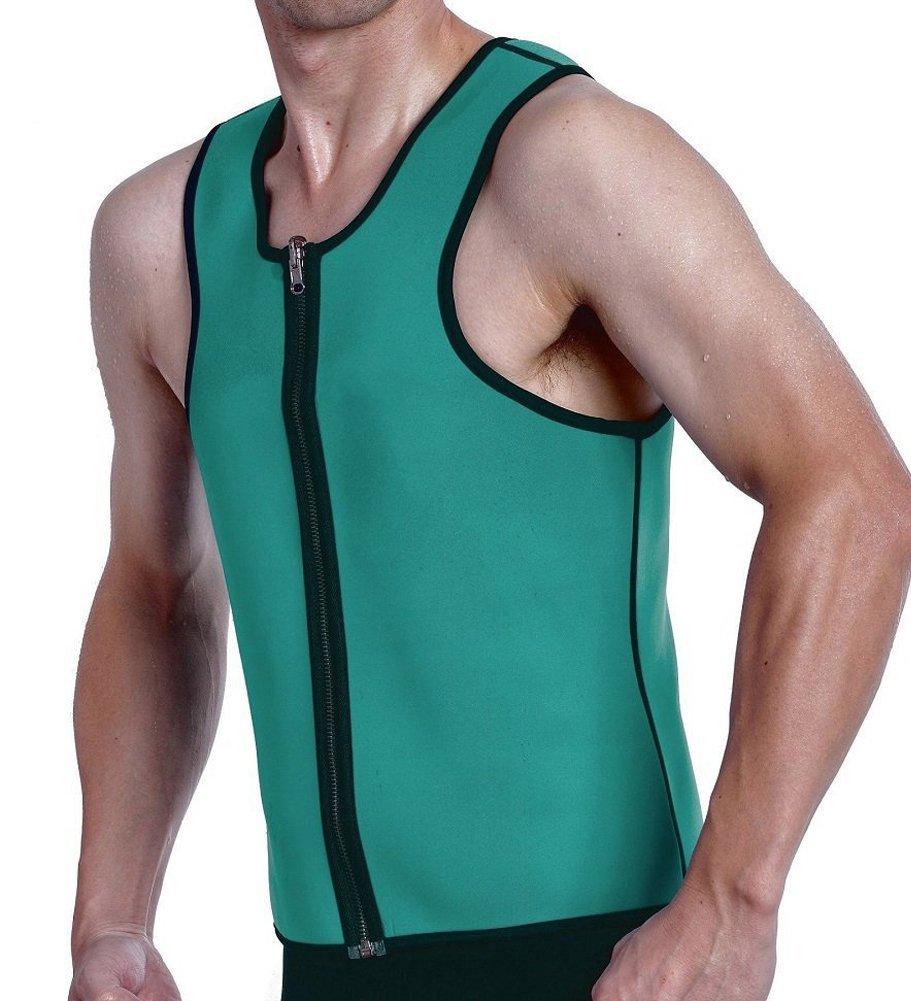 911d24d405 Roseate Hot Thermo Sweat Body Shaper Mens Shapewear Weight Loss Tank Top  Neoprene Sauna Waist Cincher
