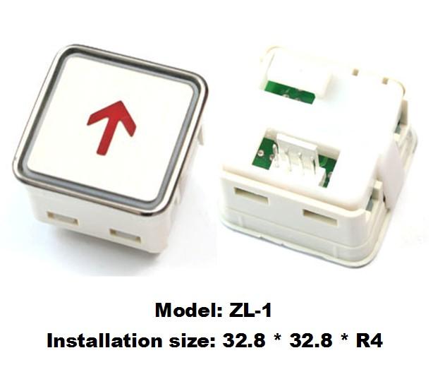 Elevator Button,elevator call button,otis elevator push button ZL-1