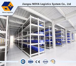 Prefabricated floor steel mezzanine& platform with CE&ISO certification