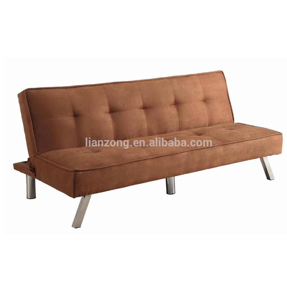Folding Microfiber Futon Sleeper Sofa Bed Lz1706k Cheap Wooden Product On Alibaba Com