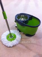 NEW SPIN MOP 360 SPIN ROTATE MAGIC MOP, HEAD & BUCKET TILE VINYL WOOD DRY WET FLOOR CLEANER