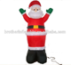 Inflatable santa clause christmas countdown for decoration