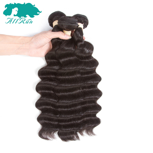Factory Deep Wave Cuticle Aligned Hair Brazilian 9A Hair Extension