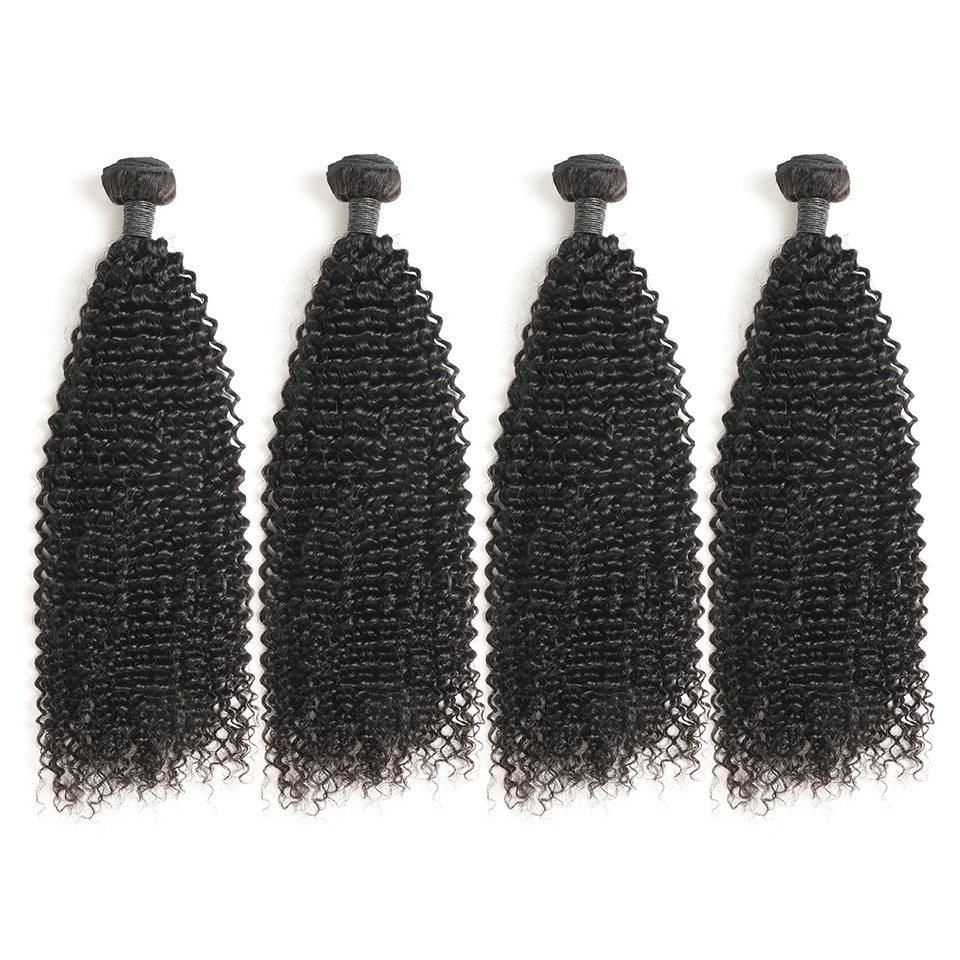 Factory wholesale vendor cuticle aligned remy unprocessed raw brazilian virgin human extensions weave kinky curly hair