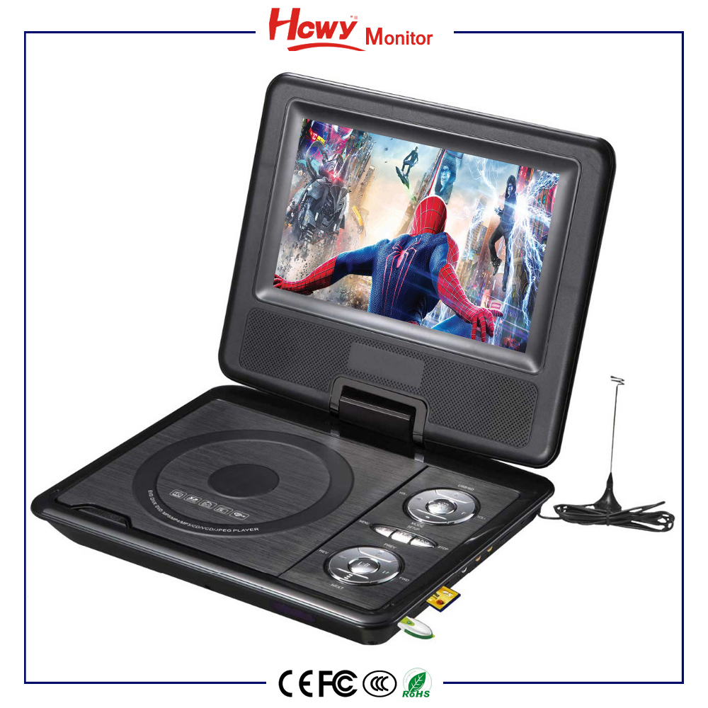 Cheap 10 Inch Small Portable Tv With Dvd 3d Play Rmvb Files Dvd