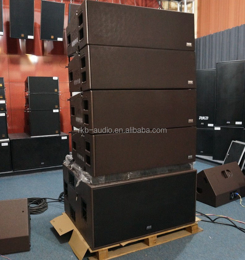 "LA-212 Three-way 2x12"" outdoor pro line array speaker"
