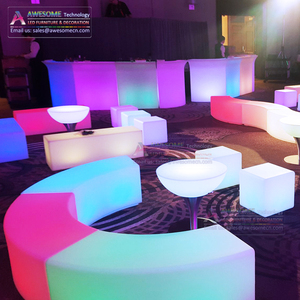 Exterior led furniture for event rent and sales