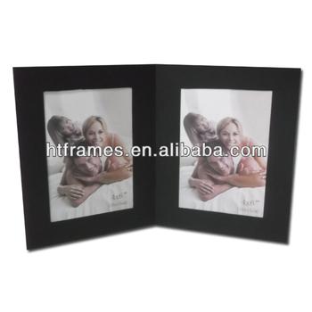 Double Black Cardstock Collage Photo Frame 4x6 - Buy Cardstock