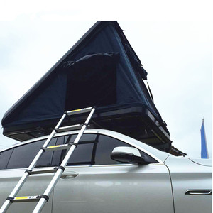 Triangle Hard Shell Roof Top Tent