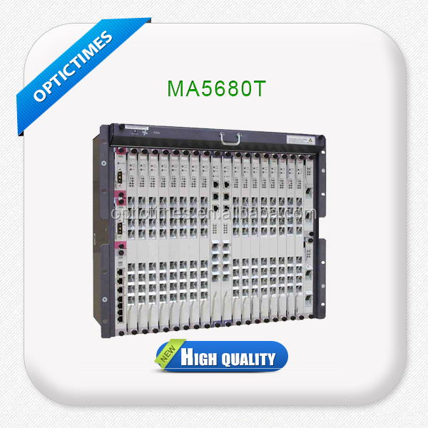 Supply high performance FTTH GPON HUAWEI MA5680T OLT ONU
