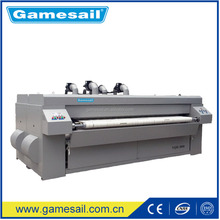 (Bedsheet, Quilt Cover, Textile, Table Cloth ironing machine) Electric, Gas, LPG, Steam, 2000mm laundry used ironing machine