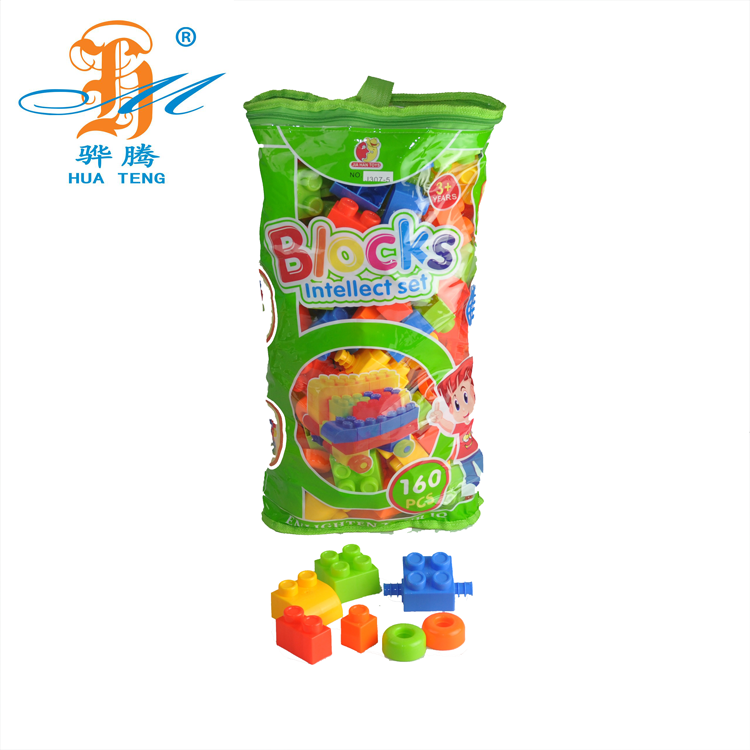 30ccee616776 Оптовая продажа горячая распродажа детских пластиковых строительные блоки  детские пазлы-головоломки 160 шт.