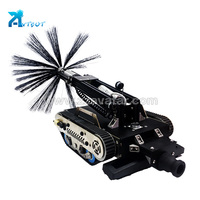 PCS-350III air duct robot cleaner pipeline cleaning pig for sale