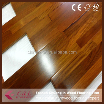 Largo Lucidi Tre Strisce Di Legno Di Teak Parquet - Buy Product on ...