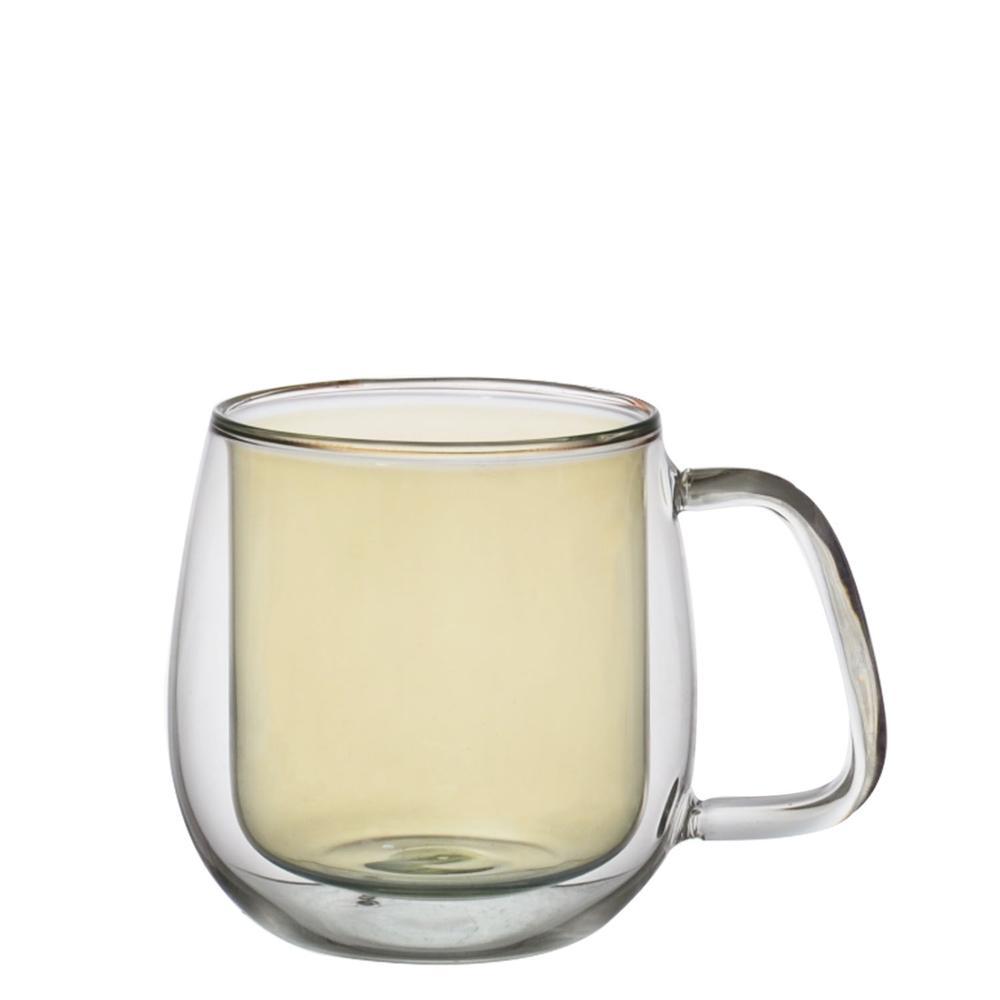 Taza de té con tapa y platillo infusor conjuntos de vidrio taza de café taza de té