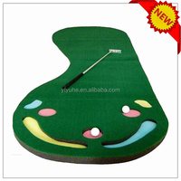 Golf gift & Mini Putting Green&indoor putting mat