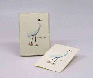Steven M. Lewers Earth Sky Water LEWERSNC55 Whooping Crane Notecard Assortment (8 of 1 style)