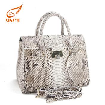 Custom Made Snakeskin Leather Handbags Fashionable