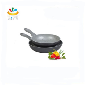 Forged aluminum non-stick granite stone coating fry pan