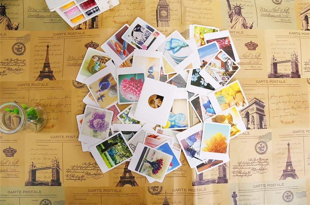 Katoot@ 55 pcs/lot vintage mini cards set greeting / thank you / blessing card / message card /gift stationery school supplies
