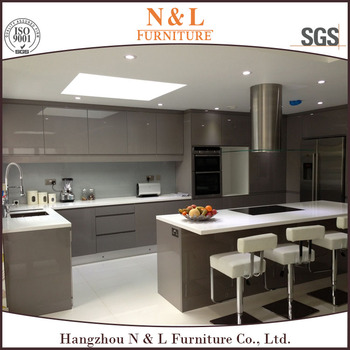 high gloss lacquer finish kitchen cabinets customized modern kitchen high gloss lacquer finish 8383