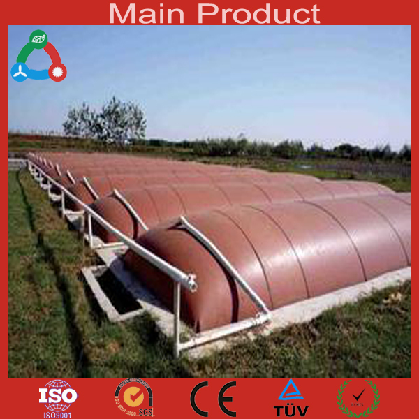 High Quality PVC Domestic Biogas for Treating Food Waste and Manure