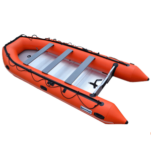 CE 10 Passengers Pvc Material Folding Inflatable Rubber Motor Boat For Sale