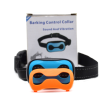 Som de alerta de Vibração Dispositivo Anti Barking Dog Bark Collar