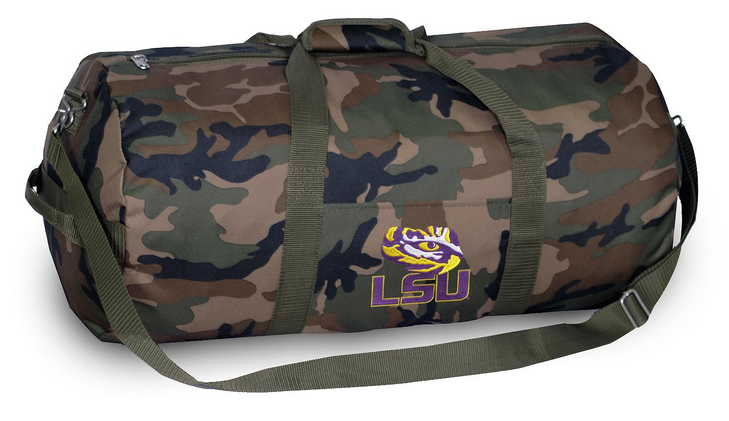 LSU CAMO Duffle Bag LSU Tigers Duffel Suitcase Luggage