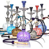 best price china aluminium hookah with 1/3/ 2 hose / zinc alloy shisha