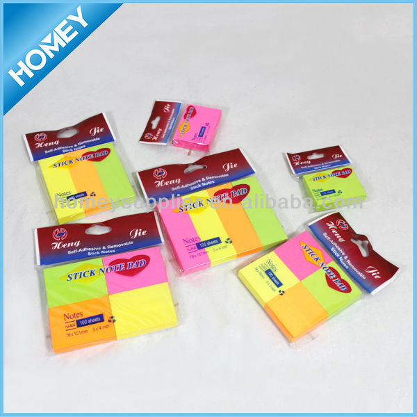 New Sticky Notes High Quality Easy Peel Off
