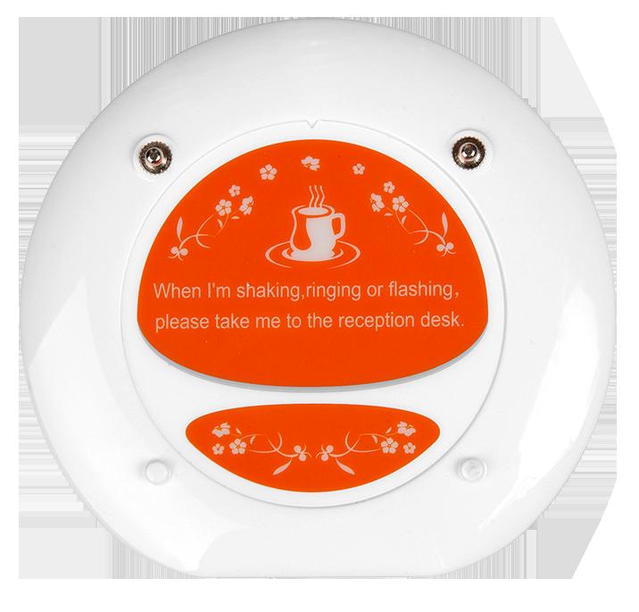 Crazy prijs logo aangepaste draadloze queuing pager systeem