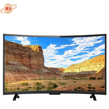 china new products universal 46 55 60 75 inch  tv curved 4k Fhd led tv