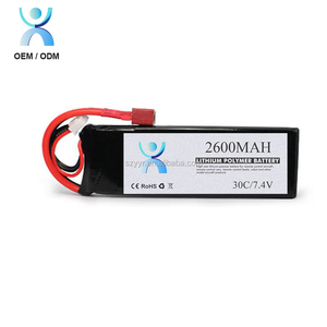 Great power 7.4V 2600 mAh li ion battery made in China