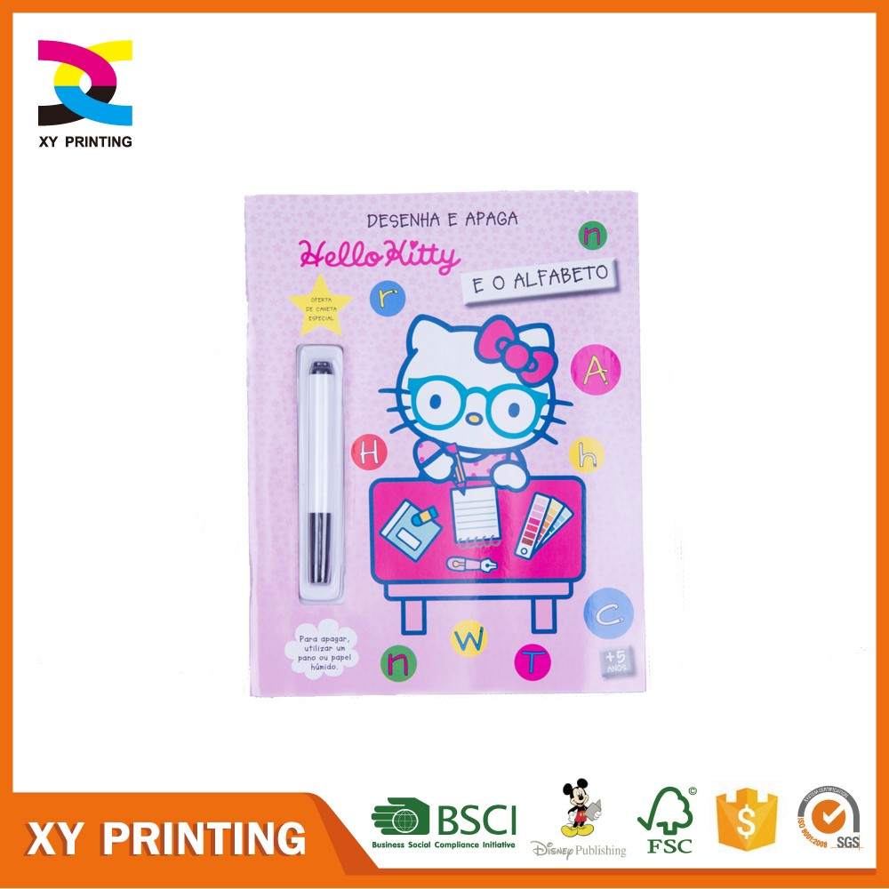 coloring book with water pen coloring book with water pen suppliers and manufacturers at alibabacom - Wholesale Coloring Books